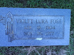 Violet Lura Fore