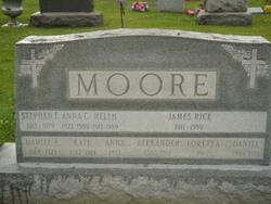 Helen <i>Moore</i> Hadley