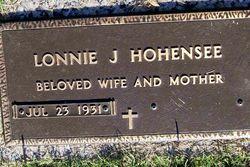 Lonnie J. Hohensee