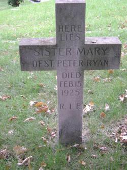 Sr Mary Peter Ryan