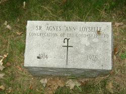 Sr Agnes Ann Loyselle