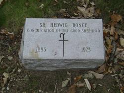 Sr Hedwig Ronge