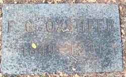 Fountain Goodlet F.G. Oxsheer, Sr