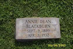Annie Imes <i>Dean</i> Blackburn