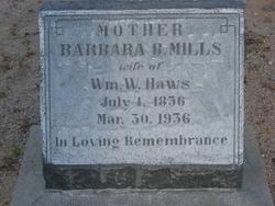 Barbara Belinda <i>Mills</i> Haws