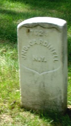 Pvt John Cardinell