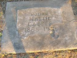 Martha Mattie <i>Ferlines</i> Cabble