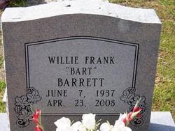 Willie Frank Barrett, Sr