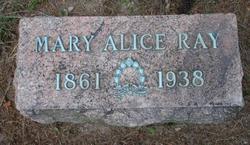 Mary Alice <i>Miller</i> Ray