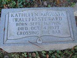 Kathleen Augusta <i>Waller</i> Steward