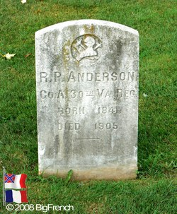 Pvt Robert Preston Anderson