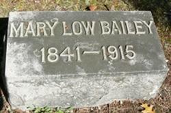 Mary <i>Low</i> Bailey