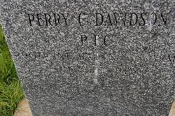 PFC Perry C. Davidson