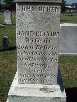 Jane <i>Keating</i> Behen