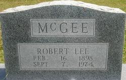 Robert Lee McGee
