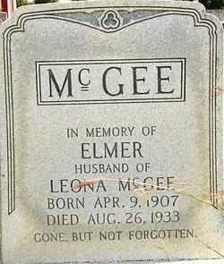 Elmer McGee