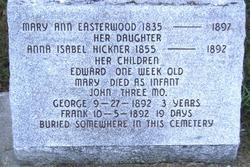 Mary Ann <i>Trader</i> Easterwood