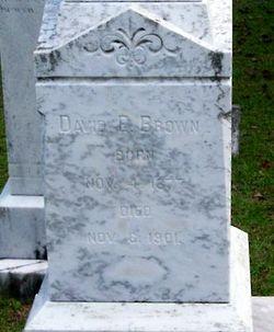 David E Brown