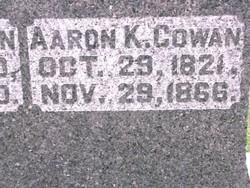 Aaron K. Cowan
