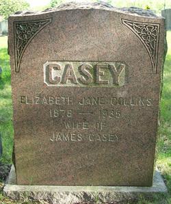 Elizabeth Jane <i>Collins</i> Casey