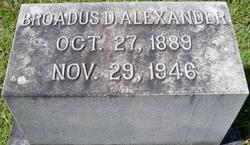 Broadus D. Alexander