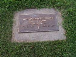 PFC Alfred Arnold Acord