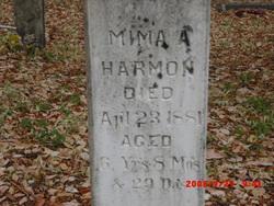Gemima Ann Mima Harmon