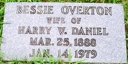 Bessie <i>Overton</i> Daniel