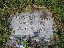 Allene <i>Hall</i> Avery