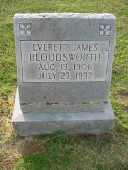Everett James Bloodsworth