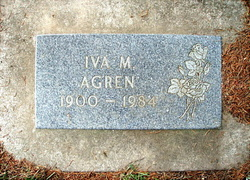 Iva Marie <i>Smith</i> Agren