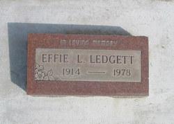 Effie L. Ledgett