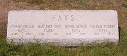 Margaret <i>Hays</i> Beaken