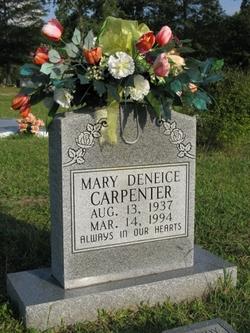 Mary Deneice <i>Harris</i> Carpenter