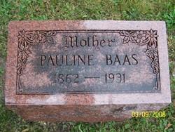Pauline <i>Melcher</i> Baas