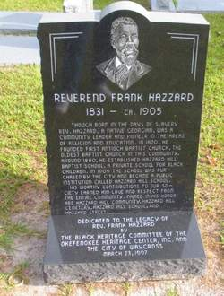 Hazzard Hill Cemetery
