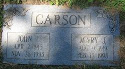 John L Carson
