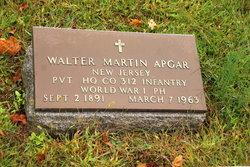 Pvt Walter Martin Apgar