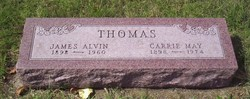 Carrie Lee <i>May</i> Thomas