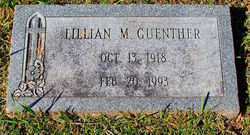 Lillian M <i>Thebeau</i> Guenther