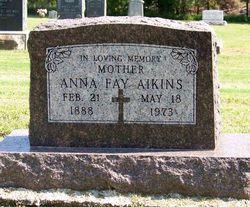 Anna Fay Annie <i>Beecher</i> Aikins