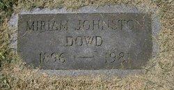 Miriam <i>Johnston</i> Dowd