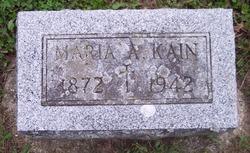 Maria S <i>Ward</i> Kain