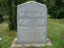 Sarah F. <i>Bradshaw</i> Creviston