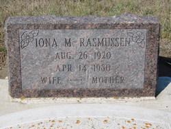 Iona Marie <i>Krohmer</i> Rasmussen