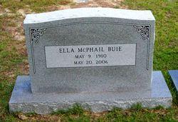 Ella <i>McPhail</i> Buie