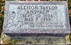 Allison Taylor Anspach