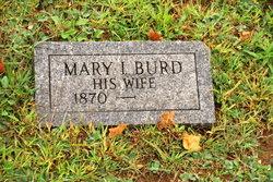 Mary I <i>Burd</i> Ader