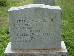Frank Allen, III
