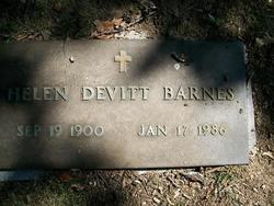 Helen <i>DeVitt</i> Barnes